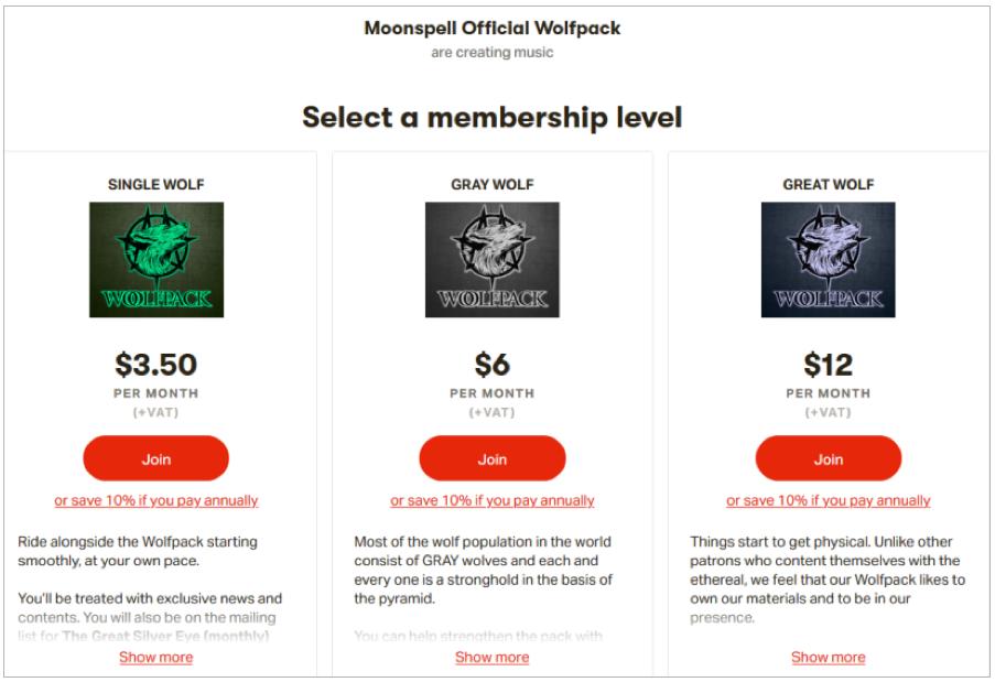 membership moonspell